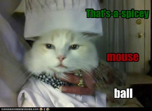 That's-a-spicey mouse ball