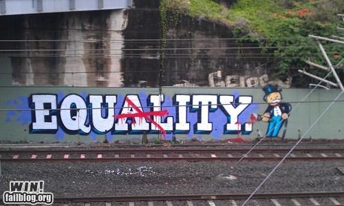 99 banks graffiti hacked irl monopoly Street Art