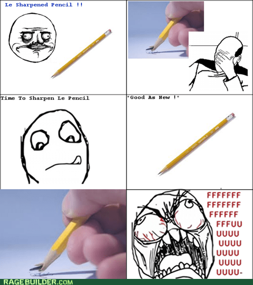fu guy me gusta pencil Rage Comics - 5734296064