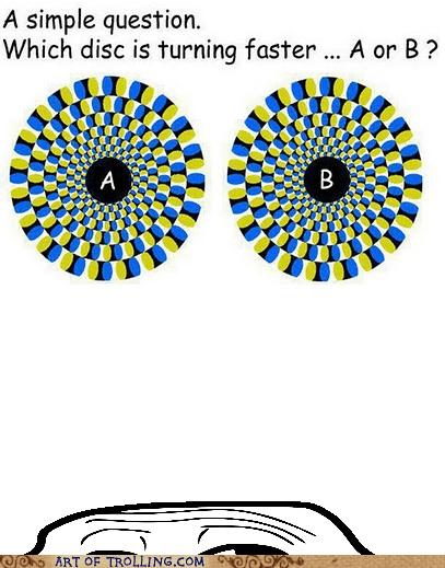 circle,optical illusion,turning