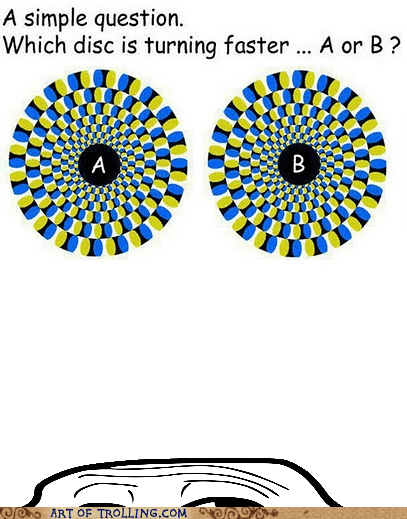 circle optical illusion turning - 5734305024