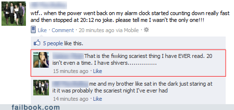 clock facepalm scary time