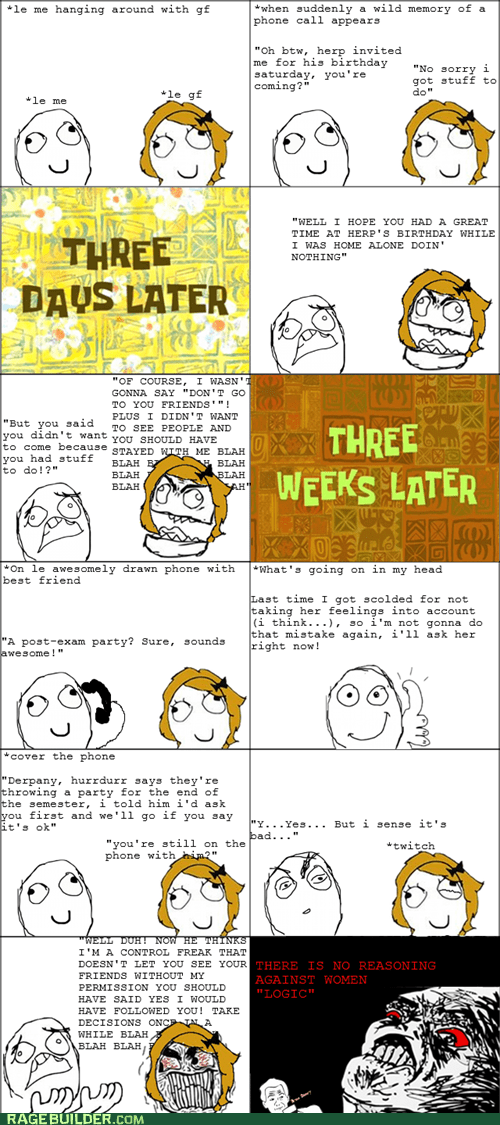 best of week Rage Comics relationships women wtf - 5734349568