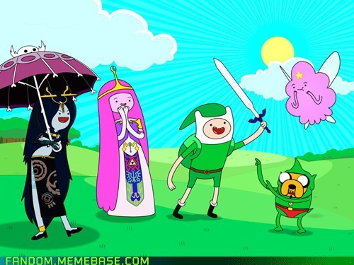 adventure time,crossover,video games,zelda