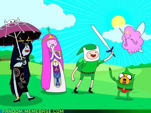 adventure time crossover video games zelda - 5734500864