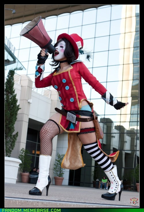 borderlands cosplay mad moxxi moxxi video games