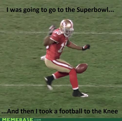 bethesda football games knee Memes Skyrim super bowl video games - 5734768384