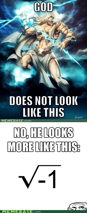 god imaginary numbers Thor troll face - 5734839296