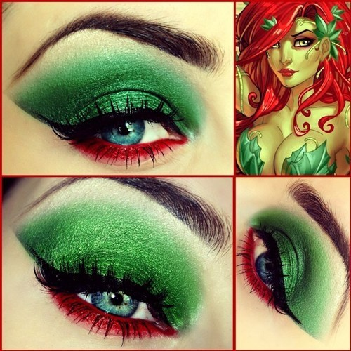 Superhero Inspired Eye Makeup
