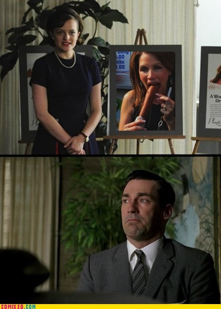 corndog,mad men,michelle bachmann,the internets,TV