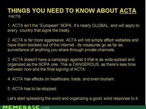 Acta,internet,Memes,SOPA