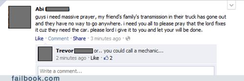 car trouble prayer religion - 5735504640