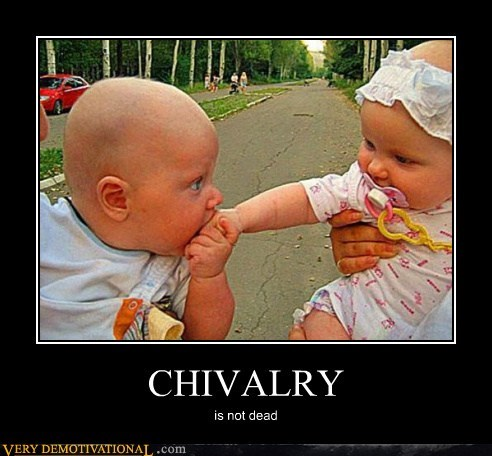 baby,chivalry,Hall of Fame,hes-just-eating-her-hand,hilarious