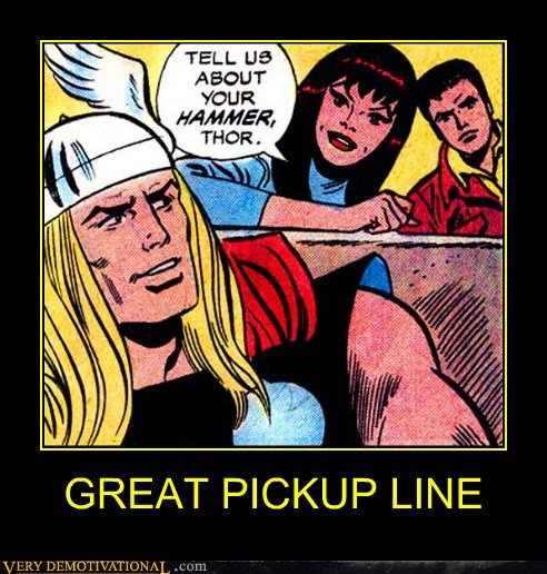 hammer pickup line Super-Lols Thor - 5736586752