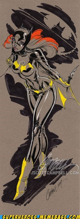Awesome Art bat girl j scott campbell Sexy Ladies - 5736677376