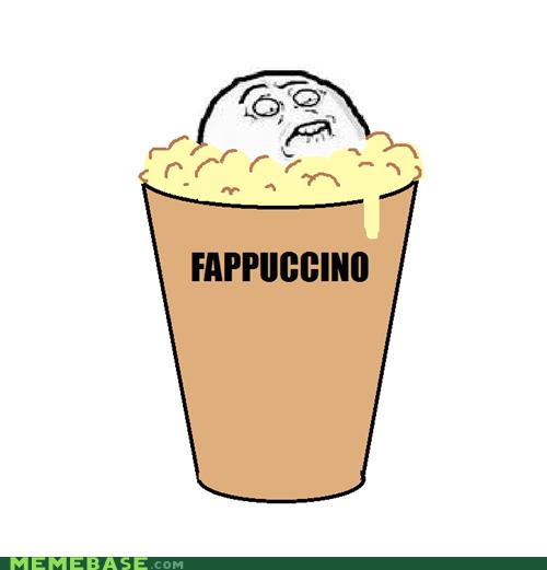 fap,foam,frappuccino,Rage Comics