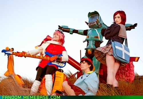 anime,cosplay,FLCL,fooly cooly
