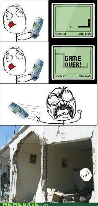 games house nokia Rage Comics snake video games - 5736833536