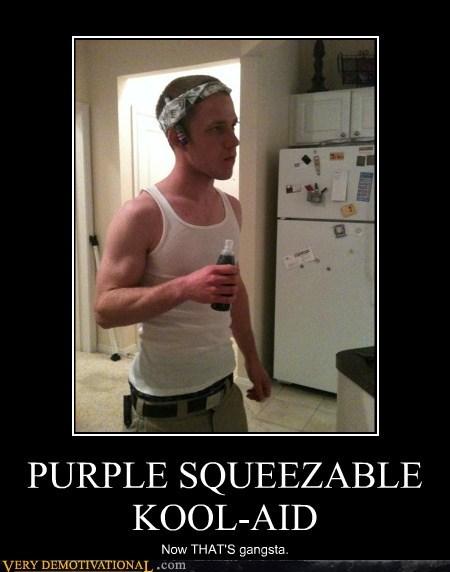 gangsta hilarious kool aid purple drink - 5736872960