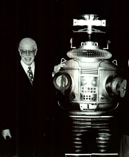 Dick Tufeld Lost In Space Robot B-9 - 5736979968