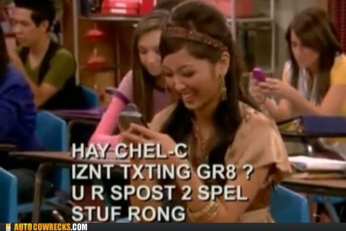 class,l33t,school,suite life of zack and co,texting,text speak