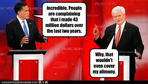 Mitt Romney newt gingrich political pictures - 5737219584
