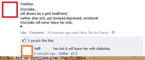 chocolate diabetes facebook women - 5737275648