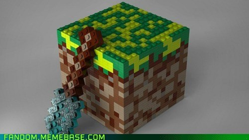 It Came From the Interwebz legos minecraft Videogames - 5737420800