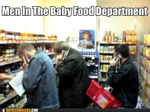baby food grocery store Hall of Fame men parenting shopping - 5737421824