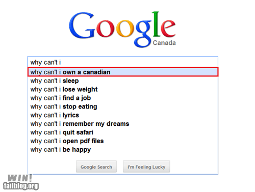 autocomplete Canada google search slavery