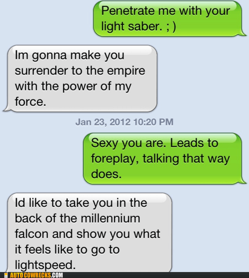 dating geek Hall of Fame nerd relationships sexting star wars - 5737566464