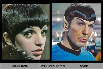 funny Leonard Nimoy Liza Minnelli Spock TLL - 5737850368