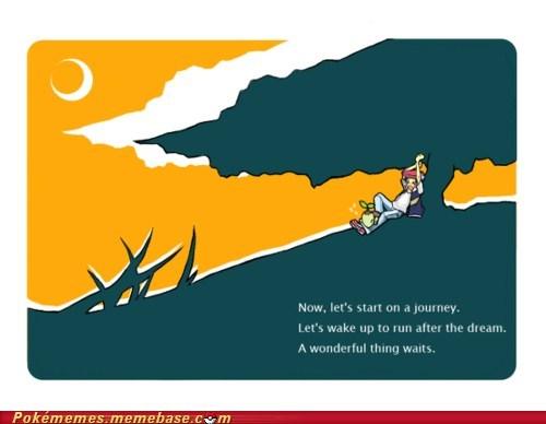 art awesome dream journey Pokémon the beginning - 5737912064