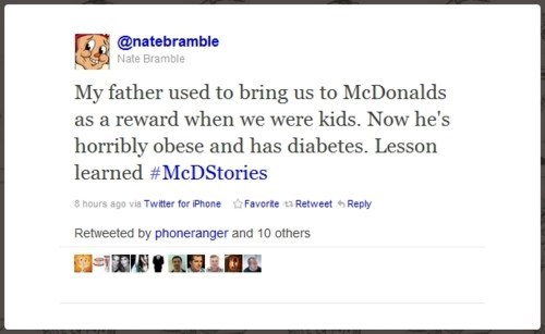 mcdstories Marketing Campaign Fail McBacklash McDonald's - 5738187264