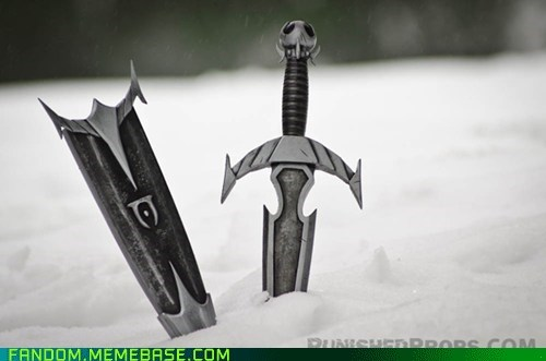 Fan Art,props,Skyrim,video games