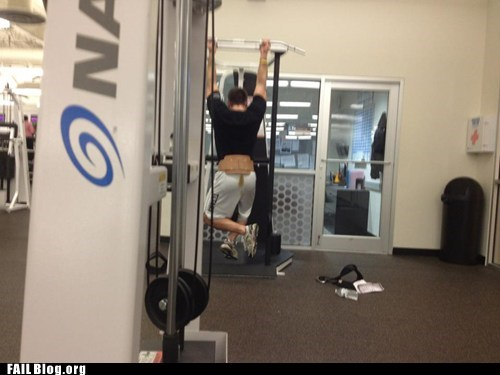 bros embarrassing gym working out - 5738252288