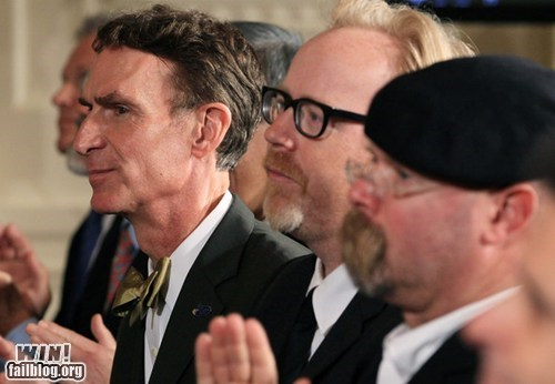 bill nye the science guy gathering Hall of Fame mythbusters nerdgasm science television - 5738280704