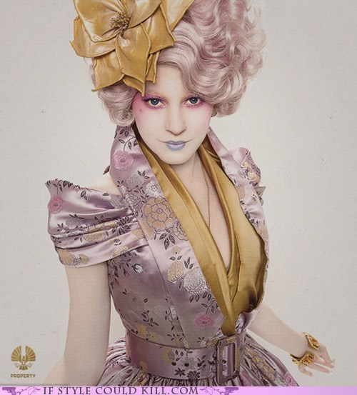 capitol couture cool accessories effie trinket movies hunger games