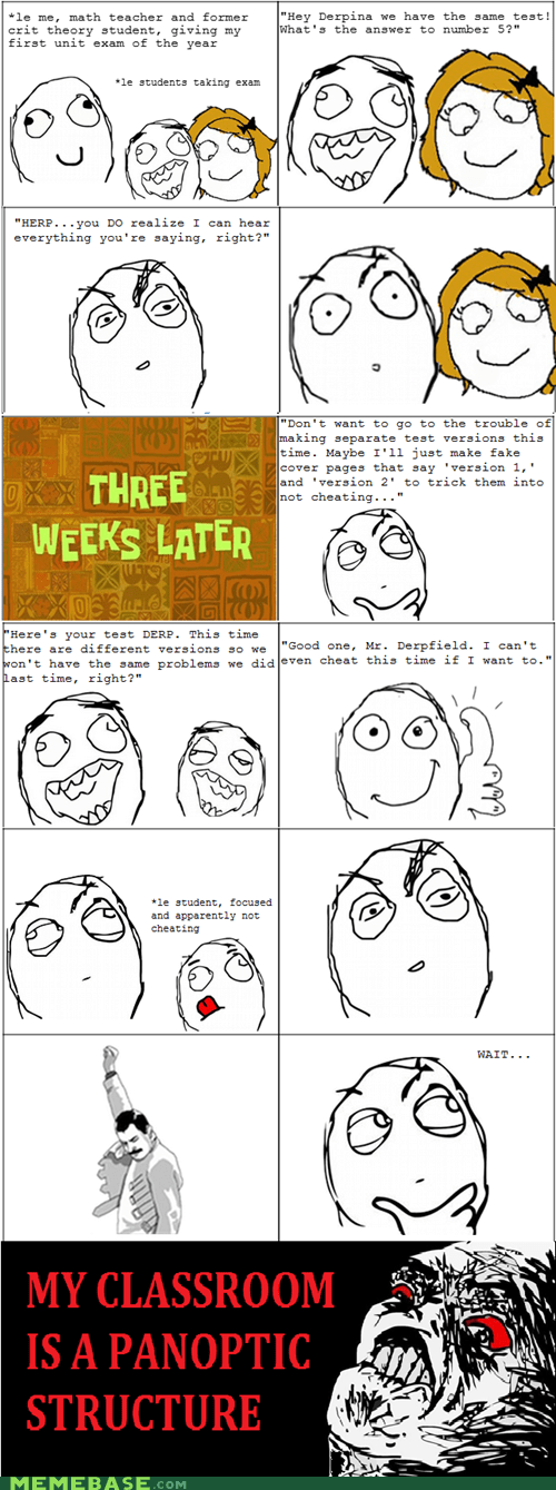 cheating panopticon Rage Comics raisin rage truancy story - 5738349056