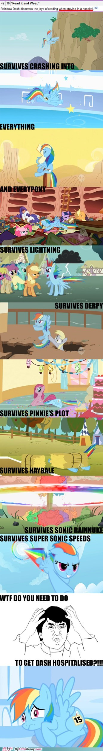 comics hospital new episode rainbow dash read it and weep - 5738373120