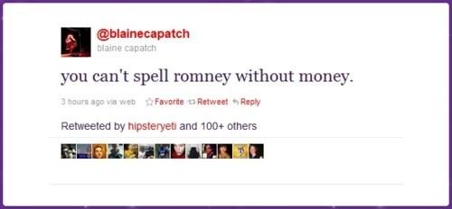 mindblown Mitt Romney tweet - 5738465792