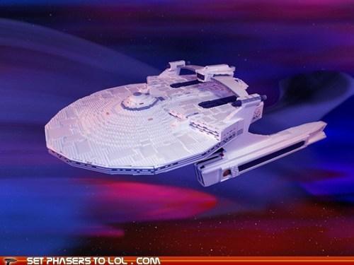 enterprise khaaaaan lego Star Trek starship - 5738470400