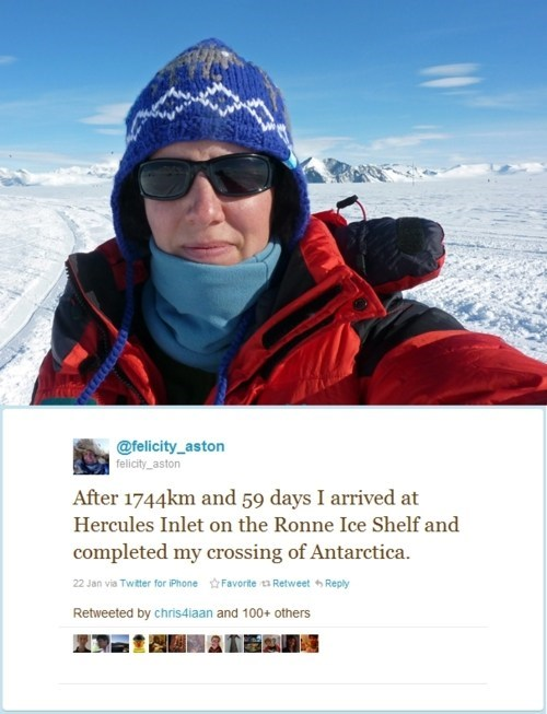 antarctica,BAMF,Felicity Aston,inspirational motivationa