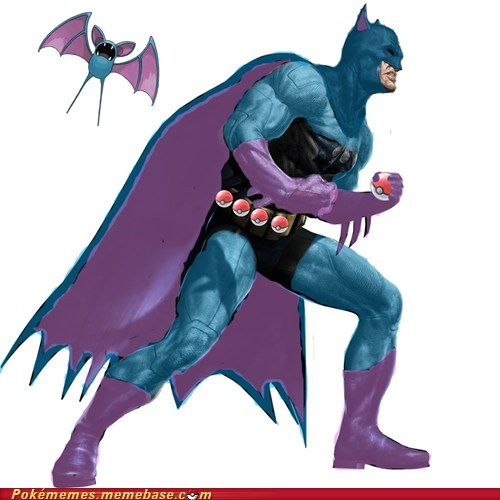 art,awesome,batman,best of week,crossover,zubat