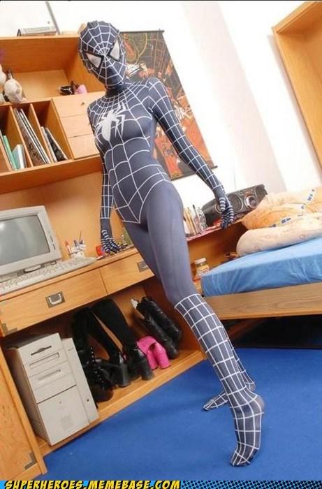 costume Sexy Ladies spider-girl Super Costume - 5739635456