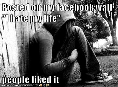 emolulz,facebook,First World Problems,status update,thumbs up