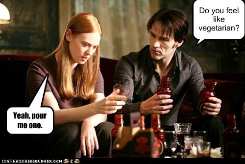 Bill Compton Blood deborah ann woll jessica hamby stephen moyer true blood vampires vegetarian
