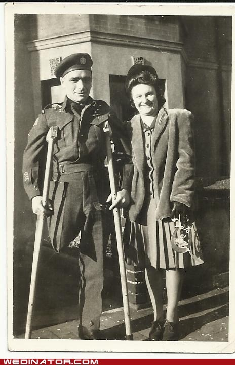 Wartime Wedding in UK