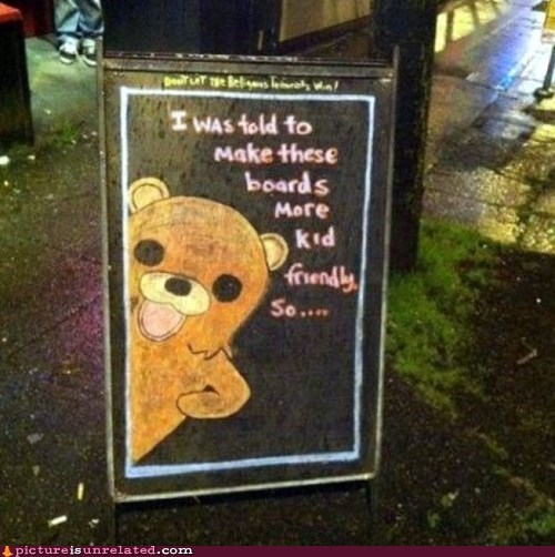 best of week,friendly,pedobear,sign,wtf