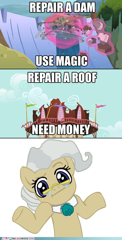 comics extreme makeover magic mayor problems rarity repair twilight sparkle unicorns - 5741244160